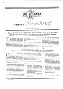 WIOMSA-Newsbrief-March-2004